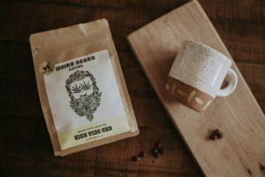 High Tide CBD Coffee with coffee beans