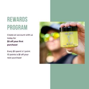 CBD Livity - Rewards Program - Mobile